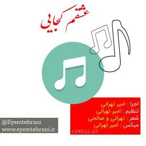 آهنگ جدید عشقم کجایی از امیر تهرانی